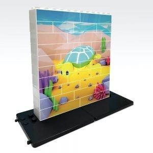 puzle vertical de construccion tortuga 32 piezas ref 83102