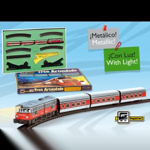 tren articulado talgo ref 505