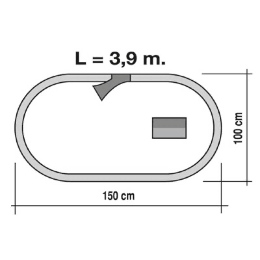 tren de cercanías circuito ref 675