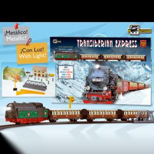 tren expreso transiberiano ref 450
