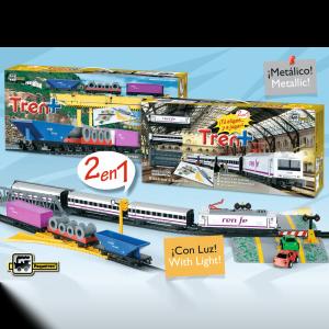 tren renfe viajeros y mercancías ref 905