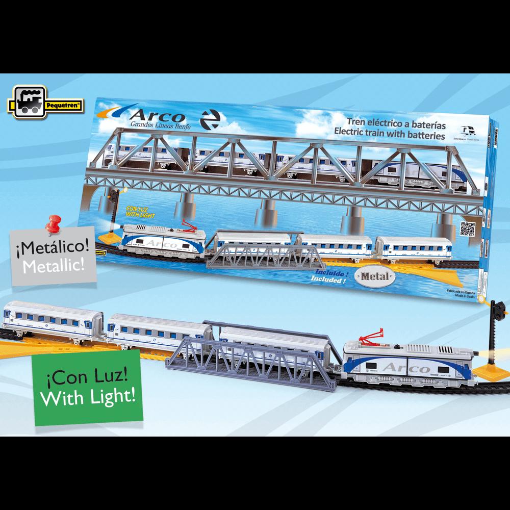 trenes metalicos