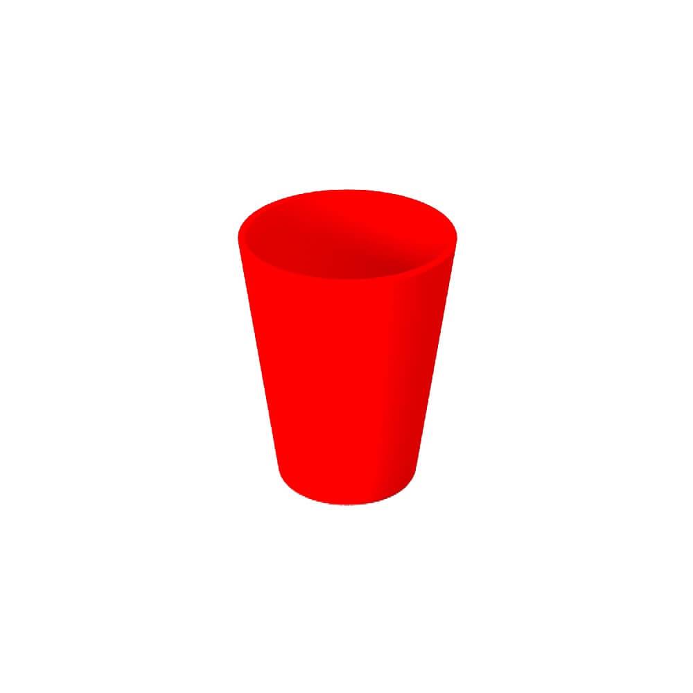 vaso rojo ref 10220